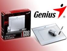 Genius'tan yeni grafik tableti