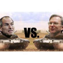 Steve Jobs ve Larry Page atıştı!