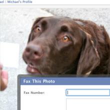 Facebook'ta faks özelliği mi? Hem de siyah beyaz!