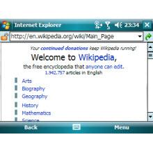 Eskiden Pocket Internet Explorer'dı