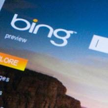 Alışverişte Bing?