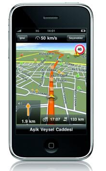 iPhone navigasyon uygulamasını duyurdu