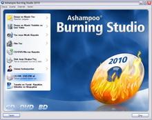 Ücretsiz tam sürüm: Burning Studio 2010