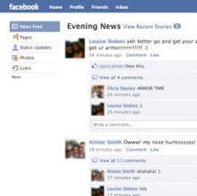 Facebook'un ana sayfasında yeni değişiklikler
