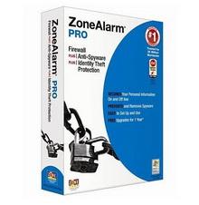 Ücretsiz indirin: Zone Alarm Pro 2010