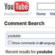 YouTube'da gerçek zamanlı arama