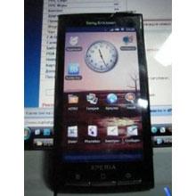 Sony Ericsson Xperia X3'ün yeni görüntüsü