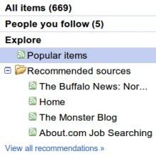 Google Reader artık daha popülist