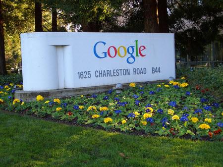 Sergey Brin, Larry Page ve Eric Schmidt