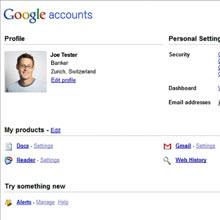 Google Dashboard: Google'dan ilginç hizmet!