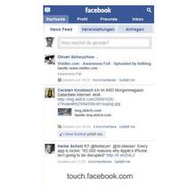 Facebook: iPhone ve Android'le daha konforlu