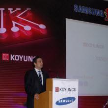 Koyuncu-Samsung ve Türkiye'de gelecek planları