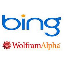 Bing ve Wolfram Aplha iş birliğine gidiyor!