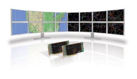 İşte 8 ekranlı sistem manzarası