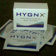 HYGNX antibakteriyel mendil