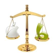 Apple hangi firmanın yasaklanmasını talep etti?