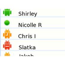 Gmail'deki renkli robotların anlamı ne?