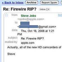 """""""Firewire'ı nasıl çıkartırsınız?"""""""