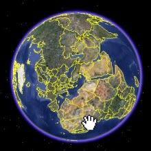 Depremin yaptıkları Google Earth'te!