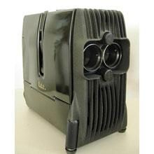 1950'lerden kalma antika projektör