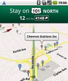 Google Maps: Android 1.6 da yararlanabilecek