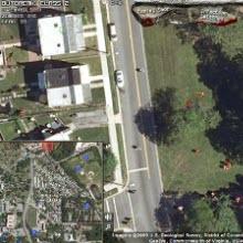 Google Earth görüntüleriyle zombi simülatörü