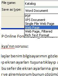 Dosya içindeki fotoğraf ve grafikleri çıkarma