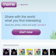 Yahoo'nun Meme'si Çin'de yasak ama Çince