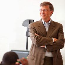 Bill Gates onları ikna etti!