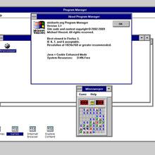 Windows 3.1 geri döndü üstelik tarayıcınızda!