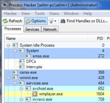 Process Hacker ile işlem kontrolü