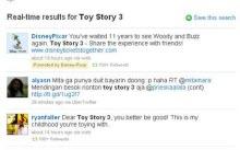 Açılışı Toy Story 3 ile yaptı...