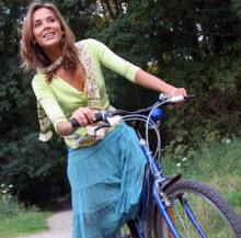 Bisiklet sürmenin formülü!