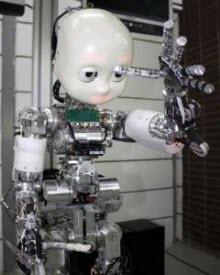Çocuk robot iCub geldi