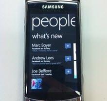 Windows Phone 7'nin eli kulağında!