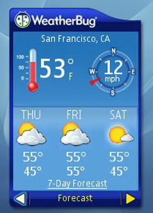 Windows 7 ile hava durumu takibi çok kolay