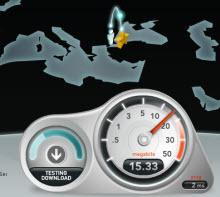 İnternet hızınızı test edin