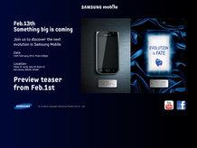 Samsung'dan yeni Galaxy S sözü