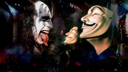Gene Simmons'a anonim saldırı