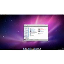 Windows'da Mac OS X ara yüzü!