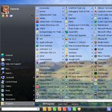 Windows 7'nin Başlat menüsüne güç katın