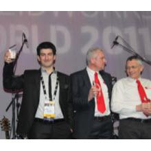 SolidWorks etkinliğinde ödülü bir Türk kazandı!