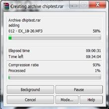 WinRAR 4.0 hız testi: Şaşırtan sonuçlar...