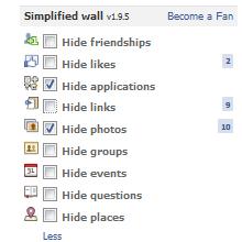 Facebook duvarınızı temiz bir hale getirin!