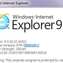 IE9'da ortaya çıkan açık, MS'e göre bir özellik!