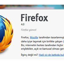 Firefox 4 Final sürümü yayında, indirin!