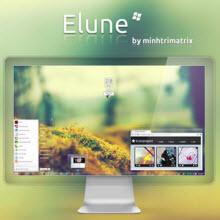 Windows 7 için sade ve hoş bir tema: Elune