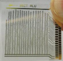 Organik mikro işlemci!
