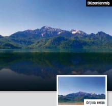 Dağları göllere yansıtın
