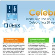 Linux, 20. yılı kutlamalarına başladı!